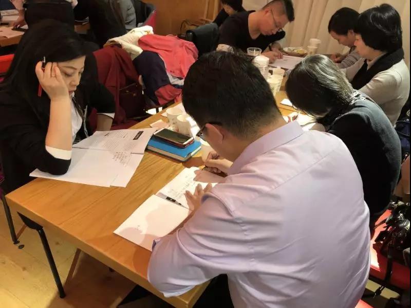 培训课程内容生动,课堂气氛十分活跃